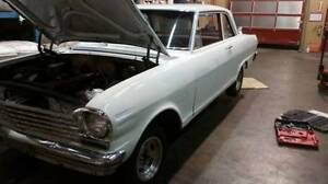 1963 chevy 2 nova 2 door post