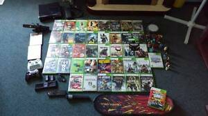 Xbox 360 Elite w/ 250g HD & 40 games and accessories
