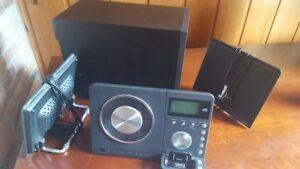 TEAC MC-DX32i Slim CD System + Remote Control