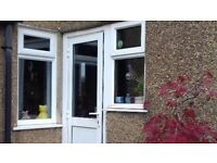 **UPVC DOOR**WITH FRAME**GOOD CONDITION**BARGAIN**NO OFFERS**DOUBLE GLAZING**