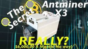BITMAIN ANTMINER X3 - $3500 - MOVING SALE
