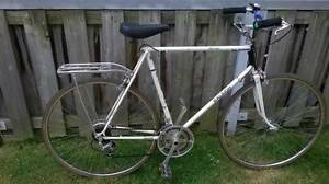 """RALEIGH RECORD 10SPEED WITH CRUISER HANDLEBAR 27"""""""
