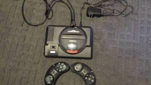 Sega mega drive over 100 games built into console