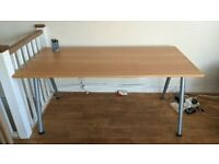 Wooden Desk (already dismantled and ready to pick up)