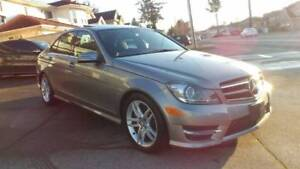 2014 MERCEDES BENZ C300 4MATC AMG LOW KM, NO ACCIDENTS, WARRANTY