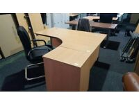Second office desk - home office - excellent condition - can come with drawers