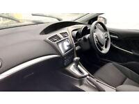 HONDA CIVIC 1.8 i-VTEC SE Plus 5dr Auto [Nav] (white) 2017