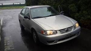 2001 TOYOTA COROLLA FOR PARTS