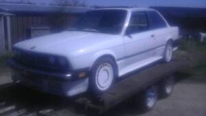 Bmw e30 EARLY COUPE ZENDER side skirts 318 325 2 door pre 88 obo