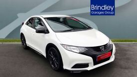 HONDA CIVIC 1.8 i-VTEC S 5dr (white) 2014