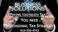 PAYING TOO MUCH TAX?!  I SPECIALIZE in SAVING YOU TAXES!