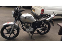 Sym 125cc motorcycle