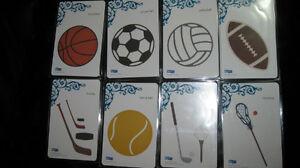 QuicKutz 4x4 Sports Bundle(b-ball, hockey,soccer,football)- $10+