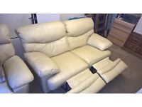 large 2 seater recliner sofa