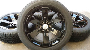 "Silverado 22"" OEM wheels"