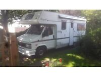 Quirky motorhome for hire..sleeps 5/6