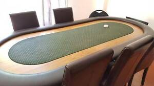 Large Poker Table and Chairs - $600