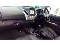 MITSUBISHI L200 LWB SPECIAL EDITIONS Double Cab DI-D Barbarian Black 4WD 176Bhp (grey) 2014
