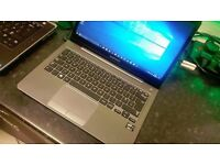 Beautiful Samsung Series 5 Core i3 Windows 10 Ultrabook With 6 Months Warranty £245