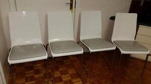 Beveled glass table with 4 chairs Hunters Hill Hunters Hill Area Preview