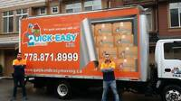 QUICK AND EASY MOVING LTD.....Vancouver,Richmond,Burnaby,Surrey,