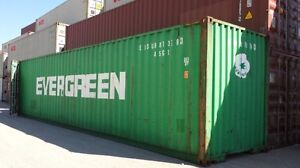 40' HC Used Shipping Container - LEASE to OWN