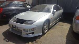 300ZX TWIN TURBO RIGHT HAND DRIVE 5 SPEED FOR PARTING OUT