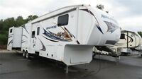 2011 Keystone Avalanche 340TG - 4 slides, Bunks, Outside Kitchen