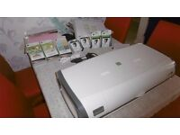 Cricut Imagine Machine + 3 Cartridges + 4 Ink Cartridges (2 black, 2 colour), + 12*12 mat