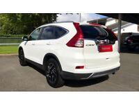 HONDA CR-V 1.6 i-DTEC 160 SE Plus 5dr Auto (white) 2017
