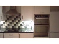 **HOTPOINT DOUBLE OVEN**DELIVERY**