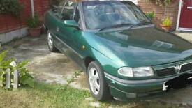 1996 Vauxhall Astra Convertible, rare Automatic, MOT, Engine, Gearbox, hood in full working order,