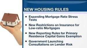 Big changes in mortgage rules effective October 17th!