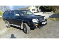 MITSUBISHI L200 WARRIOR 2005 80K NO VAT