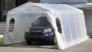 Install & Uninstall Car shelter .Installation  Abris d'auto