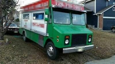 Used Gmc Step Van Kitchen Food Truck Mobile Food Unit For Sale In Colorado