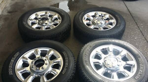 2015 F350 rims and tires