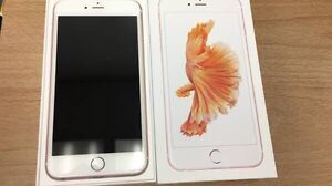 Rose Gold iPhone 6s 64gb Bell