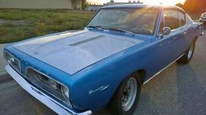 1967 PLYMOUTH BARRACUDA for sale- REBUILT racing kit 440ci