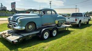 1949 olds 2 door club coupe.....racoons are free