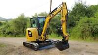 Mini Excavator rental and services
