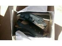 Ladies navy shoes brand new