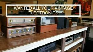 Wanted: Vintage Stereo Equipment