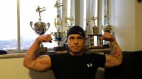 A TORONTO PERSONAL TRAINER & SELF-DEFENCE TEACHER,WITH OWN GYM