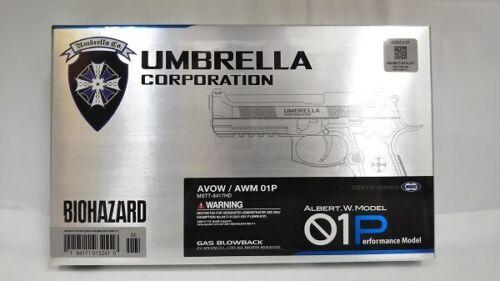 Resident Evil Bio Hazard Albert Wesker Model Umbrella Tokyo Marui SAMURAI EDGE