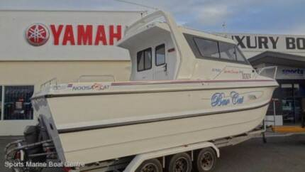 Noosa Cat 7.8m extra cab with volvo diesel inboard East Bunbury Bunbury Area Preview