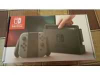 **SEALED** GREY NINTENDO SWITCH BRAND NEW AND INCLUDES 1 YEAR WARRANTY