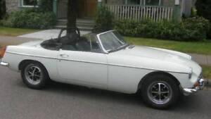 RARE 1970 MGB; RIGHT-HAND DRIVE; STICK SHIFT