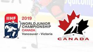 2019 IIHF World Junior Hockey Tickets