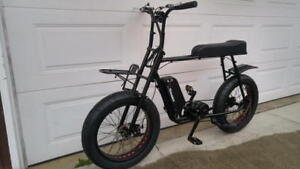 beat high gas prices electric fat bike 100km range